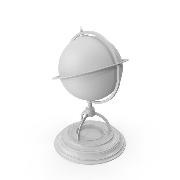 Globe White PNG & PSD Images