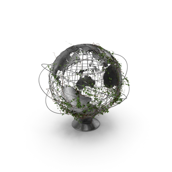 Globe with Ivy PNG & PSD Images