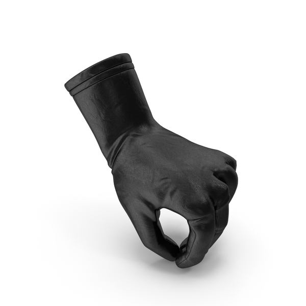 Glove Leather Pouring Pose PNG & PSD Images