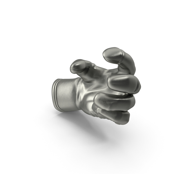 Gloves: Glove Metalic Small Sphere Object Hold Pose PNG & PSD Images