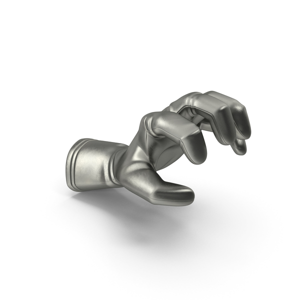 Glove Metallic Grip Pose PNG & PSD Images
