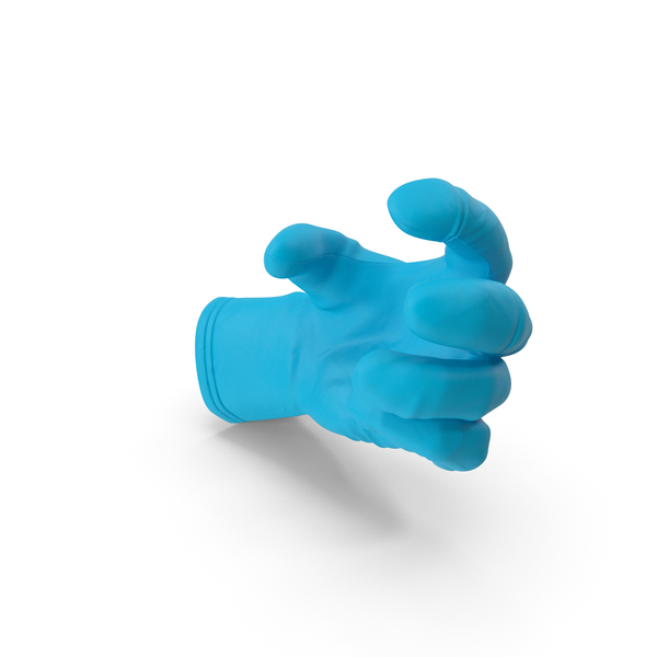 Glove Rubber Small Sphere Object Hold Pose PNG & PSD Images