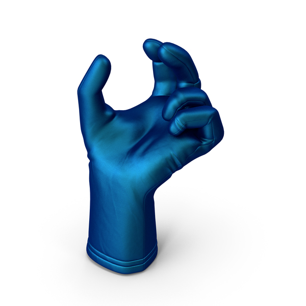 Gloves: Glove Silk Upwards Object Hold Pose PNG & PSD Images