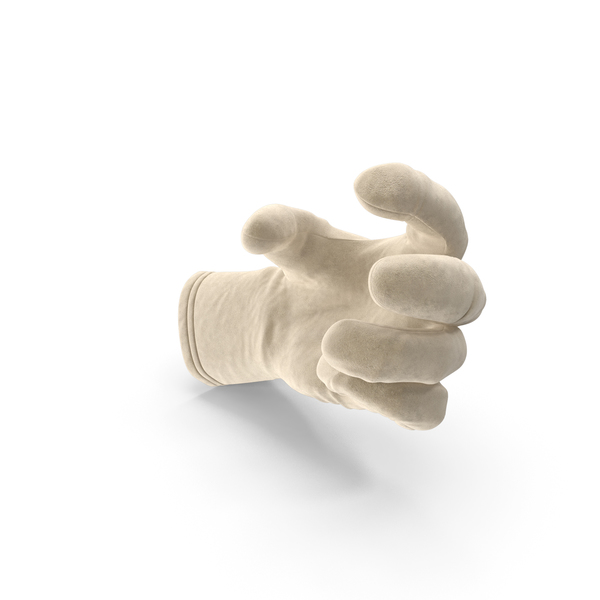 Glove Suede Small Sphere Object Hold Pose PNG & PSD Images