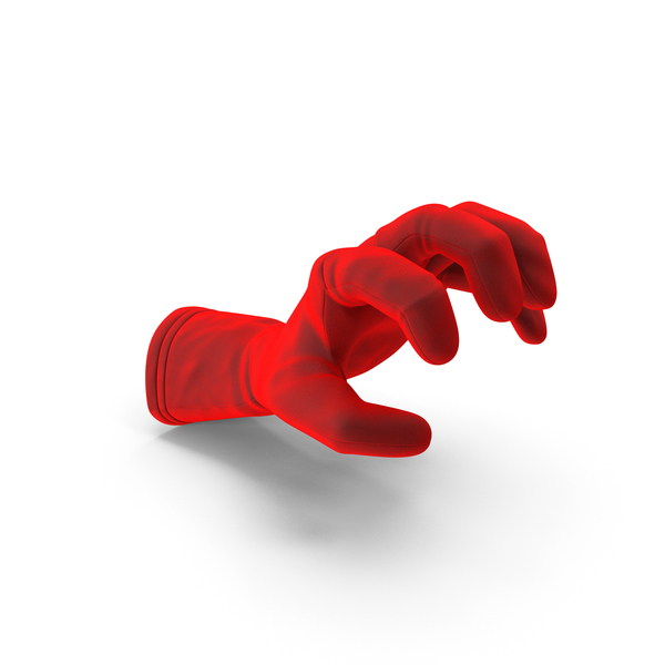 Glove Velvet Object Grip Pose PNG & PSD Images
