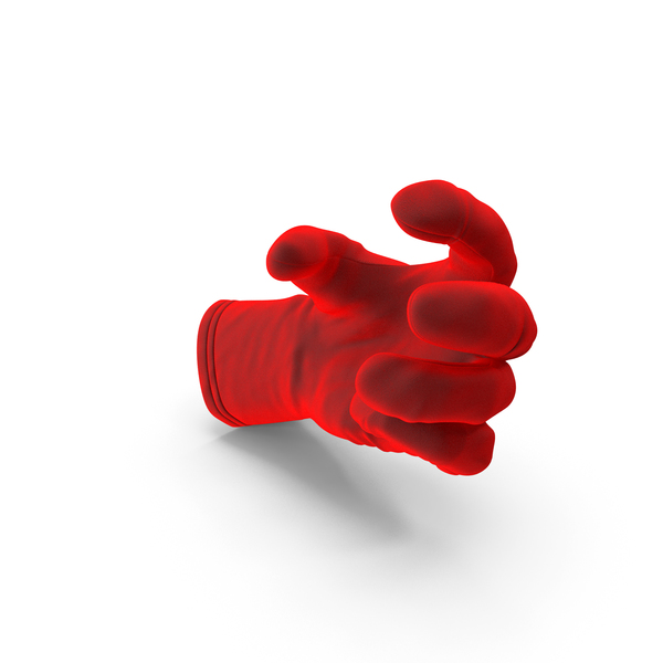 Glove Velvet Small Sphere Object Hold Pose PNG & PSD Images