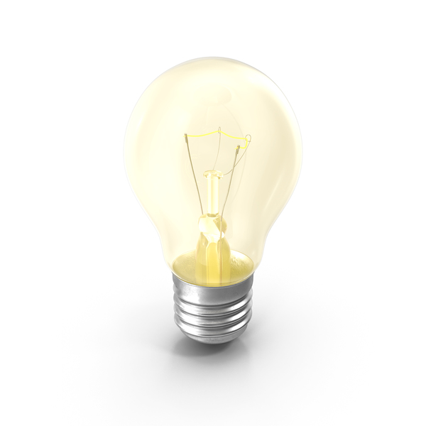 Glowing Light Bulb PNG & PSD Images