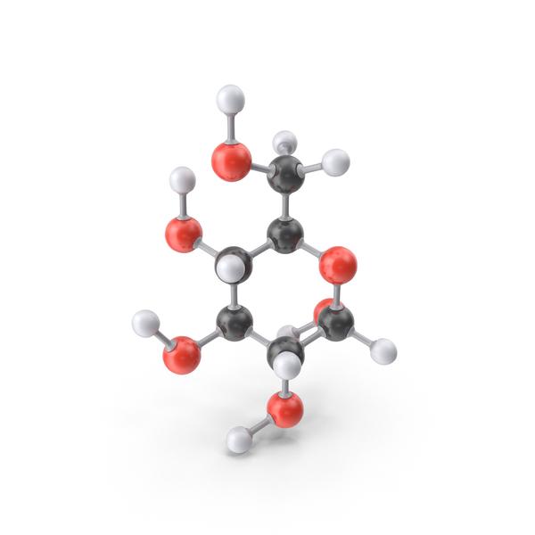 Glucose (Alpha D) Molecule PNG & PSD Images