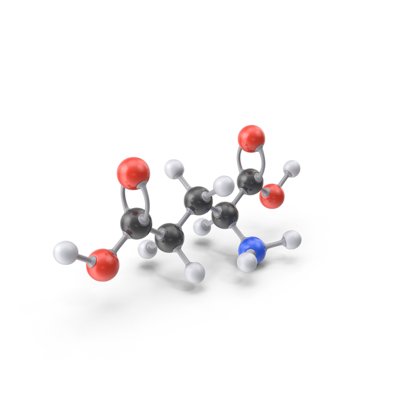 Glutamic Acid Molecule PNG & PSD Images