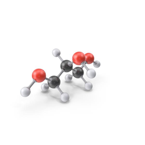 Glycerol Molecule PNG & PSD Images