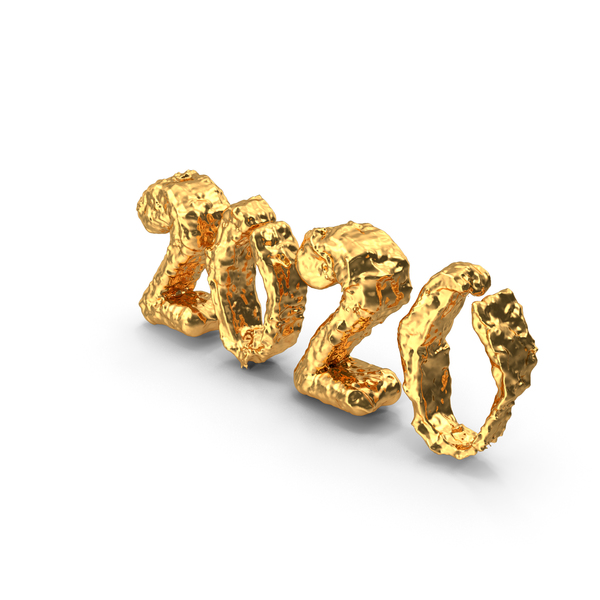 Gold 2020 PNG & PSD Images