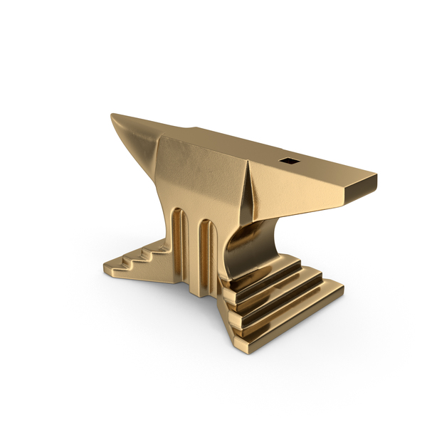 Gold Anvil PNG & PSD Images