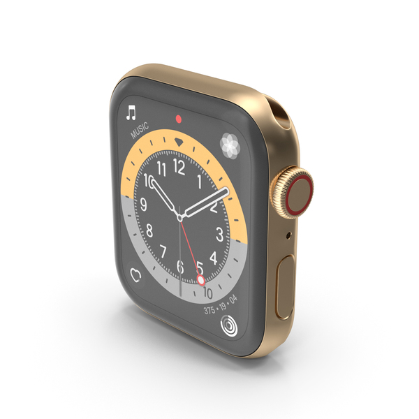 Smart: Gold Apple Watch 6 PNG & PSD Images