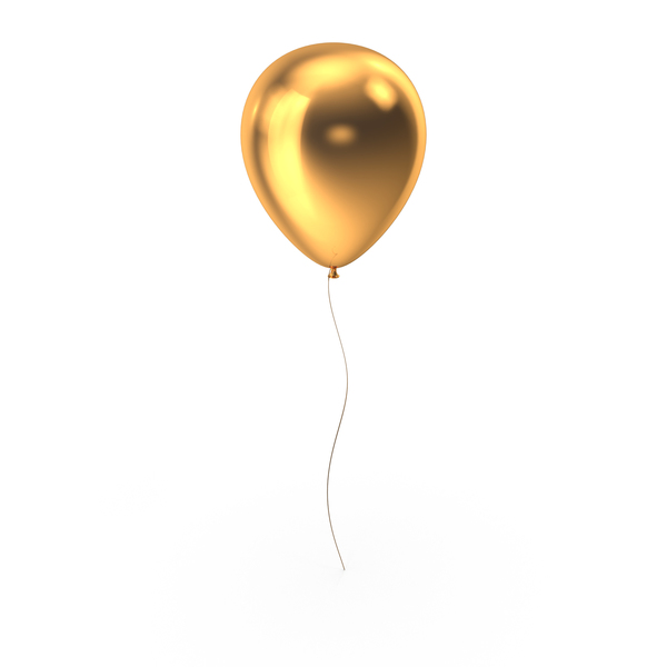 Gold Balloon PNG & PSD Images