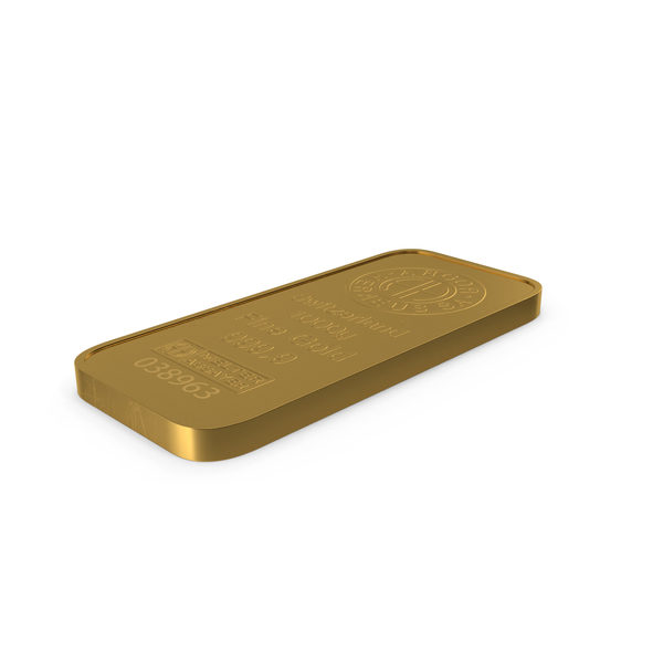 Gold Bar 1000g PNG & PSD Images
