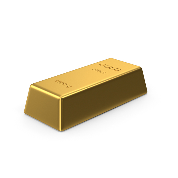 Currency: Gold Bar PNG & PSD Images