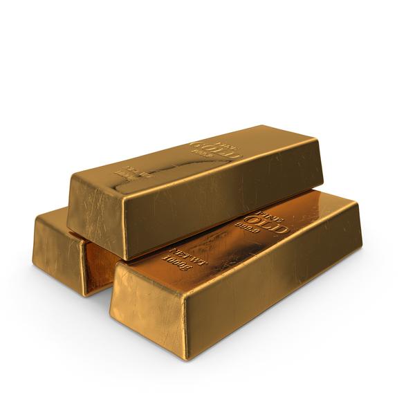 Bar: Gold Bars Pile PNG & PSD Images