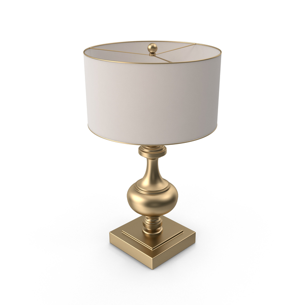 Gold Base Lamp PNG & PSD Images