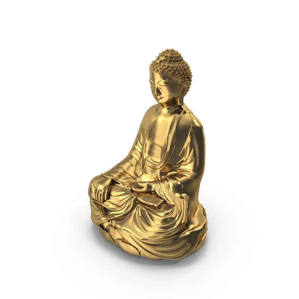 Gold Buddha Statue PNG & PSD Images
