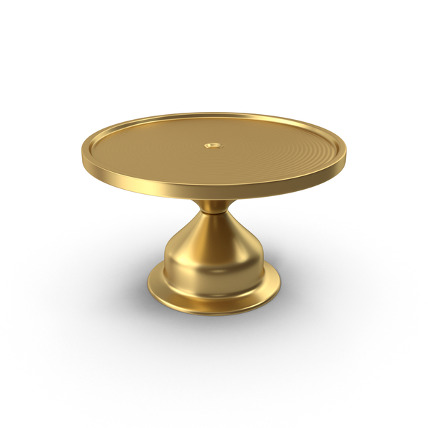 Gold Cake Stand PNG & PSD Images