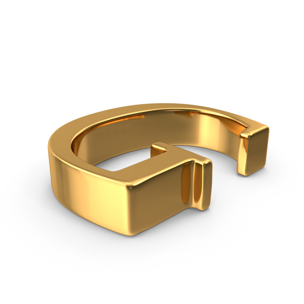 Gold Capital Letter G PNG & PSD Images