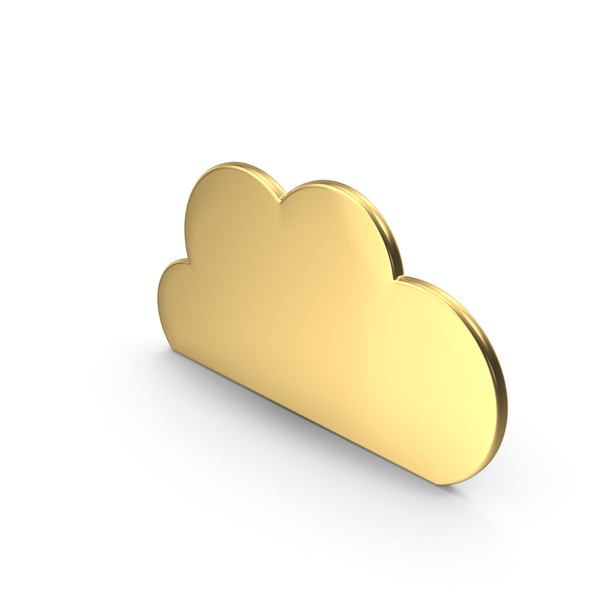 Gold Cloud PNG & PSD Images