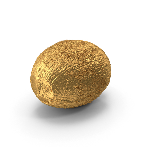 Gold Coconut PNG & PSD Images