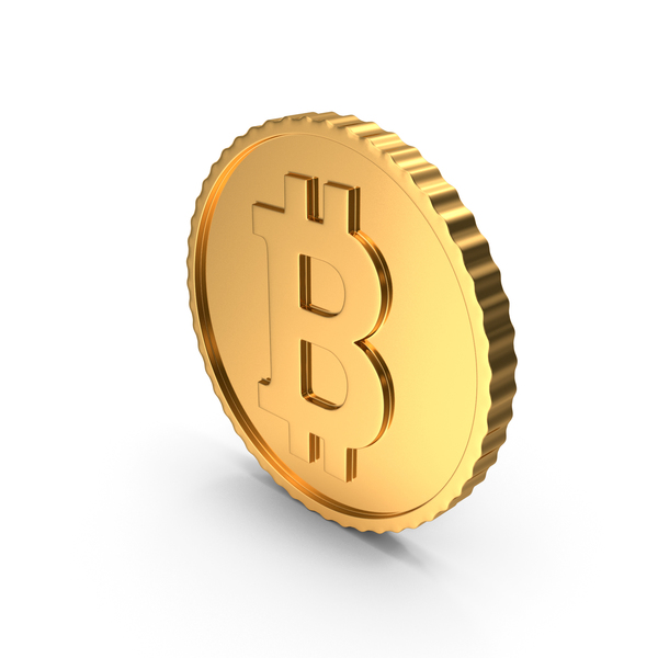 Gold Coin Bitcoin PNG & PSD Images