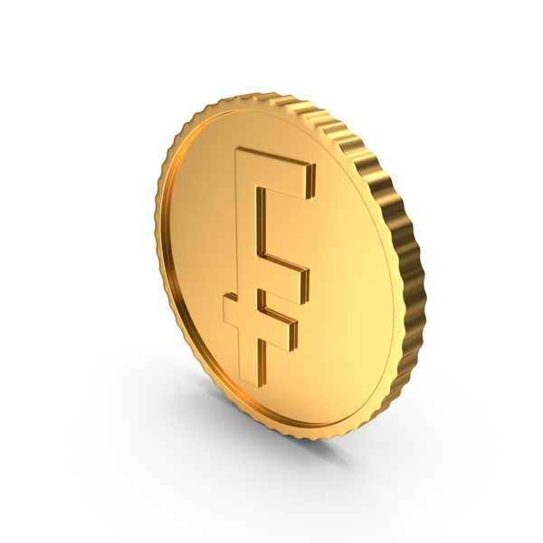 Gold Coin Franc PNG & PSD Images