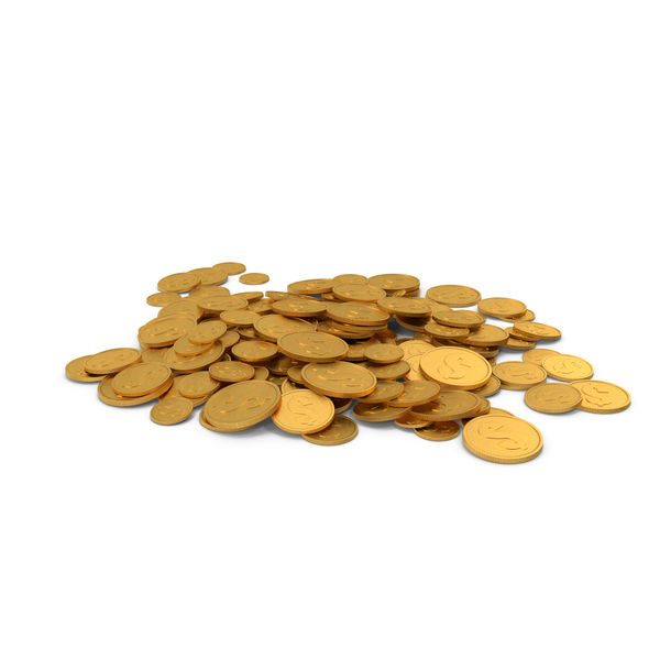 Gold Coin Pile PNG & PSD Images