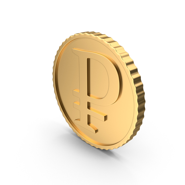 Gold Coin RUB PNG & PSD Images