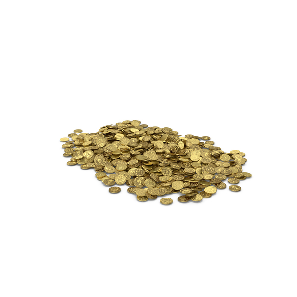 Coin: Gold Coins Pile PNG & PSD Images