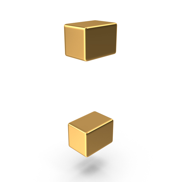 Gold Colon Symbol PNG & PSD Images