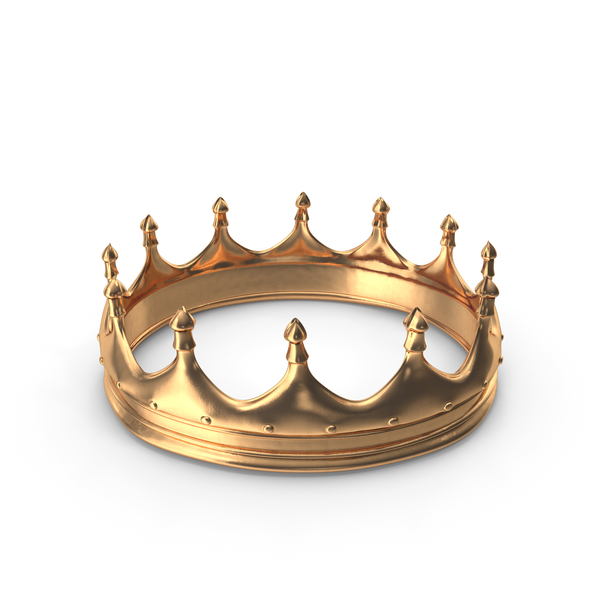 Royal: Gold Crown PNG & PSD Images