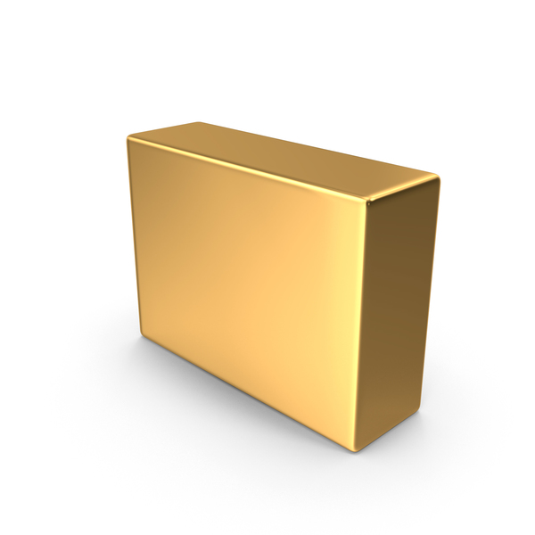 Gold Dash Symbol Object