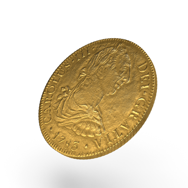 Coin: Gold Doubloon PNG & PSD Images