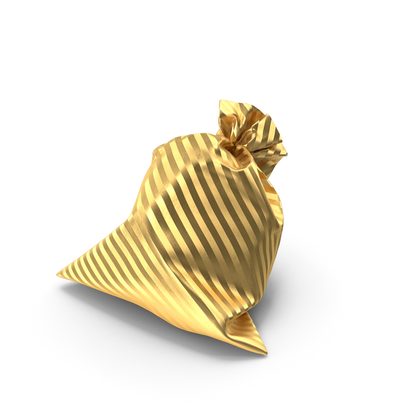 Gold Gift Bag PNG & PSD Images