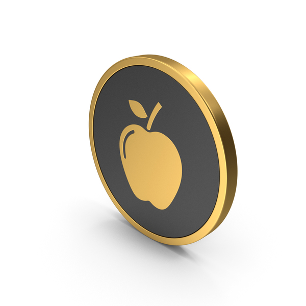 Logo: Gold Icon Apple PNG & PSD Images