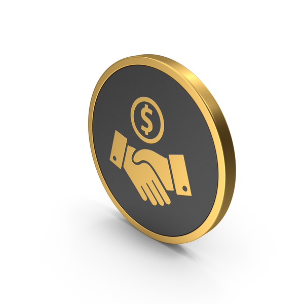 Computer: Gold Icon Deal PNG & PSD Images