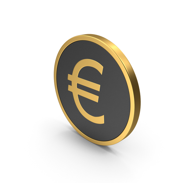 Gold Icon Euro PNG & PSD Images