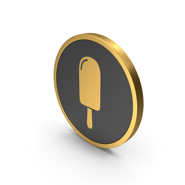 Computer: Gold Icon Ice Cream PNG & PSD Images