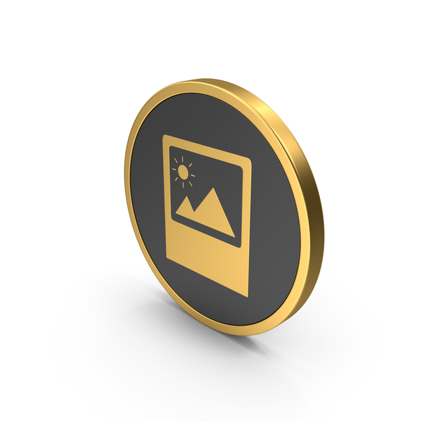 Logo: Gold Icon Image PNG & PSD Images