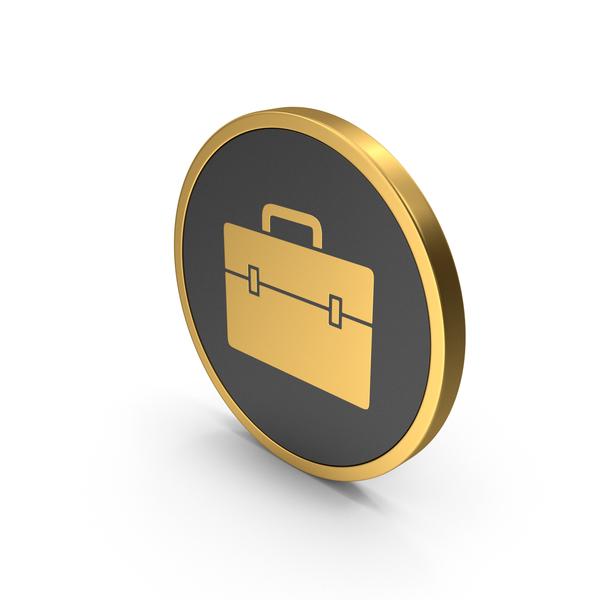 Logo: Gold Icon Portfolio PNG & PSD Images