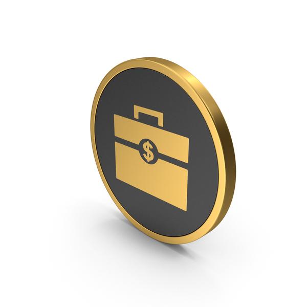 Gold Icon Portfolio PNG & PSD Images