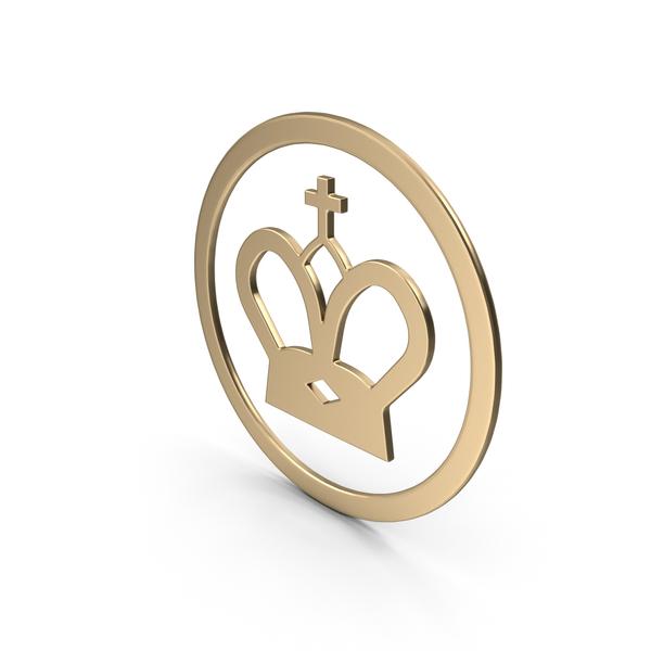 Symbols: Gold King Symbol PNG & PSD Images