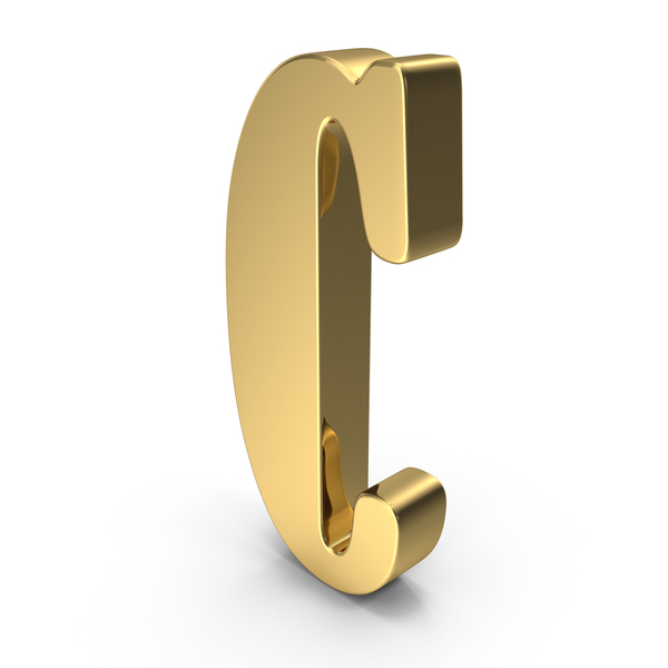 Gold Letter C PNG & PSD Images