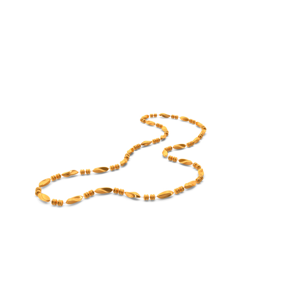 Gold Mardi Gras Beads PNG & PSD Images