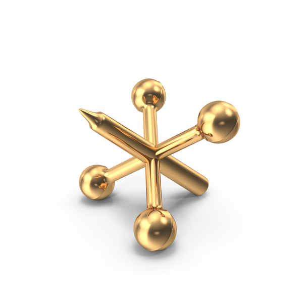 Gold Metal Jack Piece PNG & PSD Images