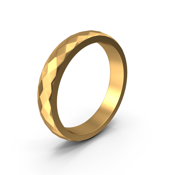 Gold Metal Ring Bracelet PNG & PSD Images