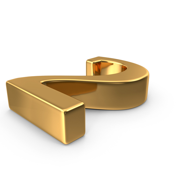 Gold Number 2 Object
